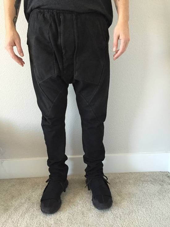 Julius Glitch Collection / Drop crotch trousers Size US 32 / EU 48 - 3