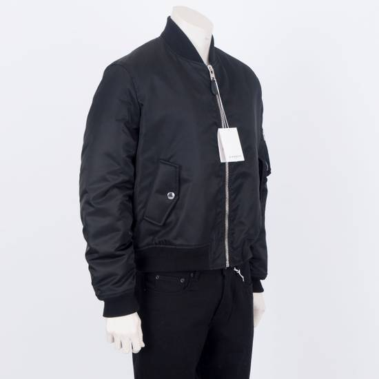 Givenchy 2550$ New Black Padded Nylon Illuminati Patch Bomber Jacket Size US L / EU 52-54 / 3 - 4