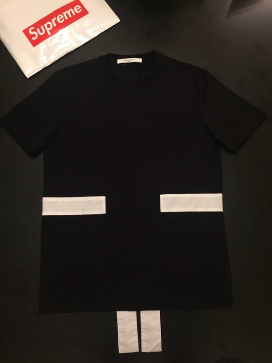 Givenchy Striped Paneled Tee Size US M / EU 48-50 / 2 - 2