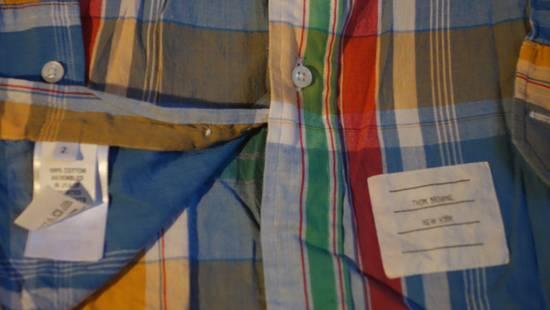 Thom Browne Checked Madras Shirt Size US M / EU 48-50 / 2 - 3