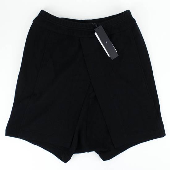 Julius 7 Black Cotton Asymmetric Layered Shorts Size S Size US 32 / EU 48
