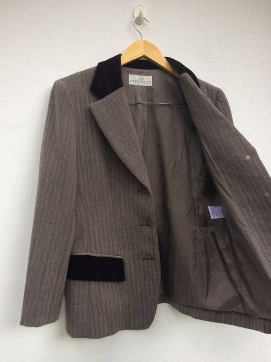 "Givenchy ""Life"" Formal Suit Velvet Mix by Givenchy Size 38R"