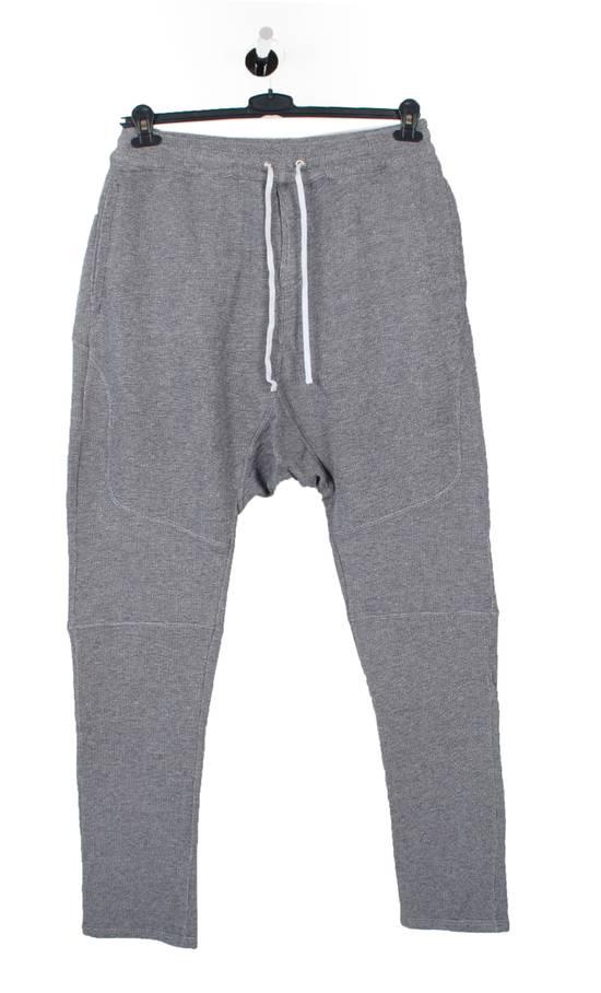 Balmain Original New Balmain Baggy Crotch Grey Men Trousers Sweat Pants in size M Size US 32 / EU 48