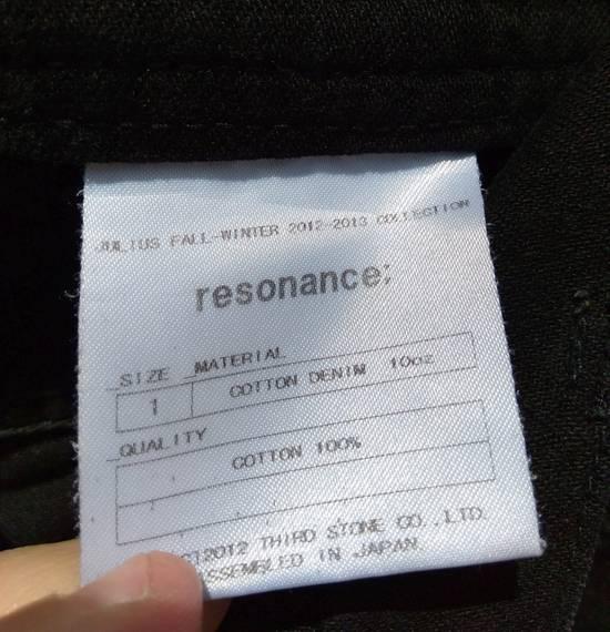 Julius Black Anti-fit Denim Jeans f/w12 Size US 30 / EU 46 - 6