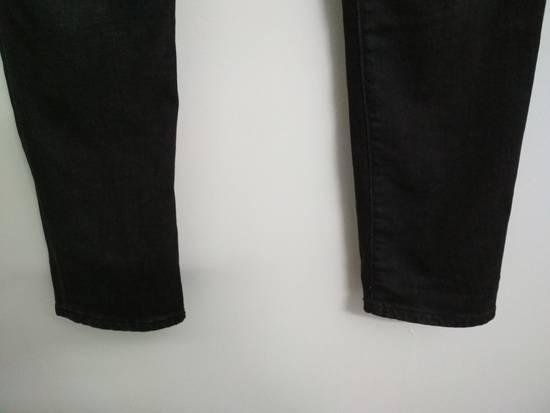 Balmain Authentic BALMAIN Dark Grey Slim Biker Stretch Denim Jeans Made in Italy Size US 32 / EU 48 - 9