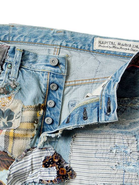 "Kapital KAPITAL ""Happy Patchwork Tapered"" Denim Size US 30 / EU 46 - 2"