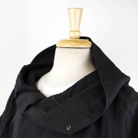 Julius Men's Black Linen Blend Fishtail Parka Coat Size 0/2XS Size US XS / EU 42 / 0 - 4