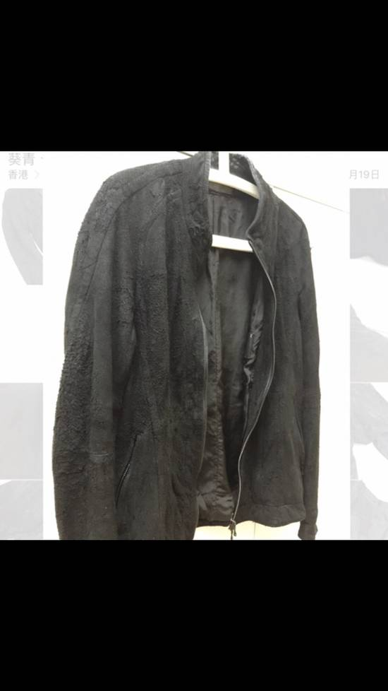Julius Season Resonance F/W Iconic Hammered Lamb Leather Jacket Size US M / EU 48-50 / 2 - 2
