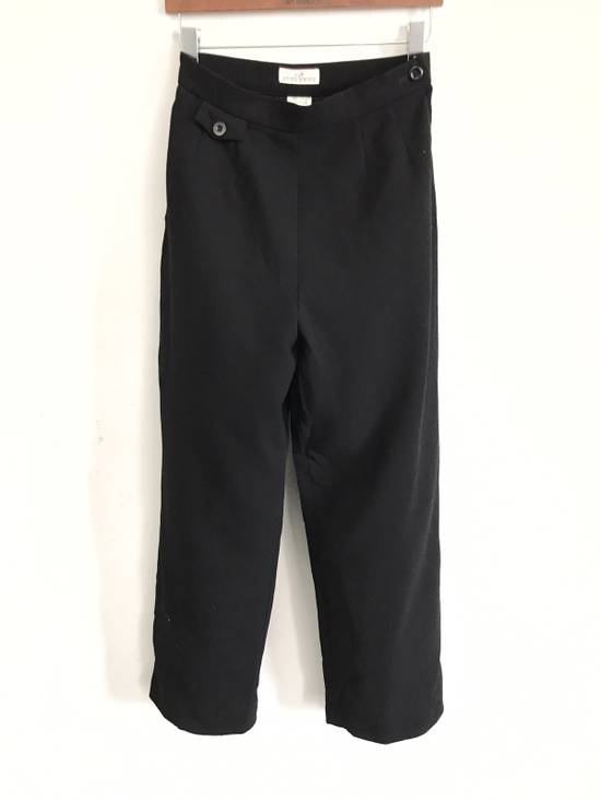 "Givenchy Vintage Givenchy Life Wool High Waist Black Pants Waist 27""x40"" Size US 27"