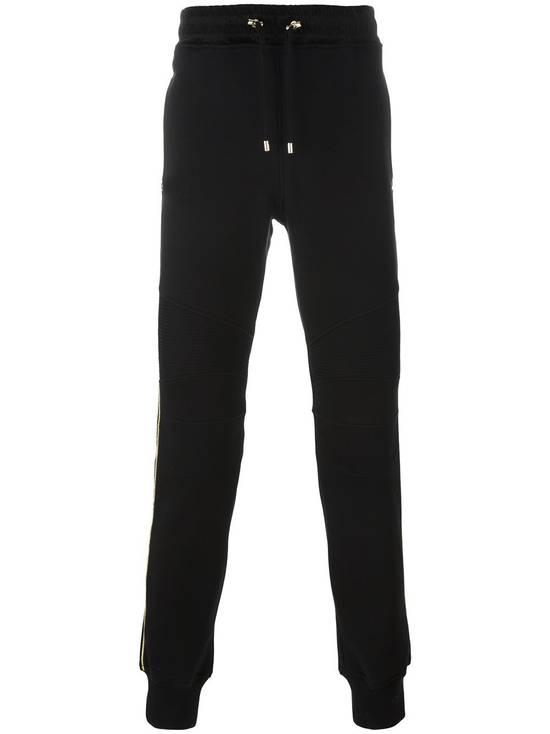 Balmain Balmain Biker Trackpants Black and Gold Size US 34 / EU 50