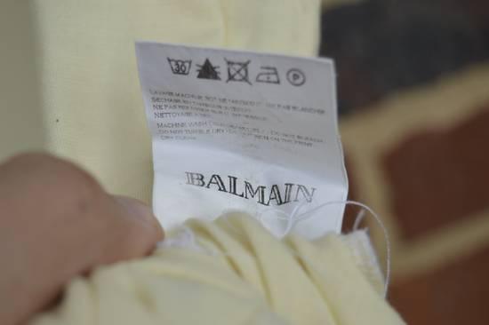 Balmain Yellow Distressed T-shirt Size US M / EU 48-50 / 2 - 6