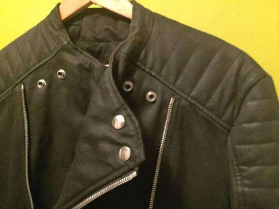 Balmain Balmain Waxed cotton moto jacket Size US M / EU 48-50 / 2 - 7