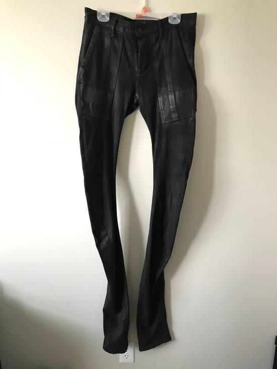 Julius Extra Long Twist Knit Denim Size US 31