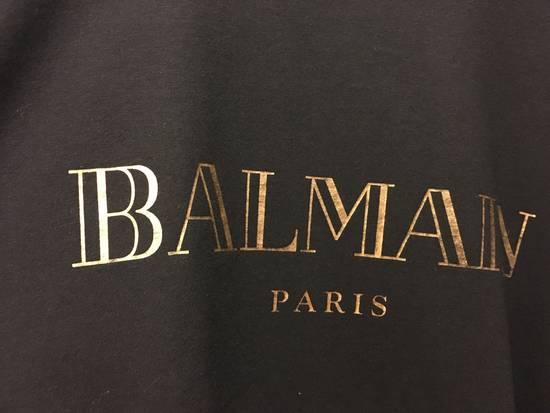 Balmain Balmain gold logo shirt Size US XL / EU 56 / 4 - 1