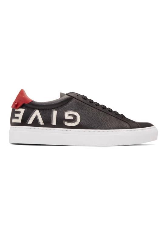 Givenchy Black Reverse Logo Urban Street Sneakers Size US 9 / EU 42