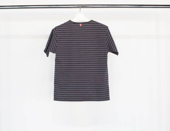 Thom Browne T-shirt in striped cotton jersey Size US XS / EU 42 / 0 - 1