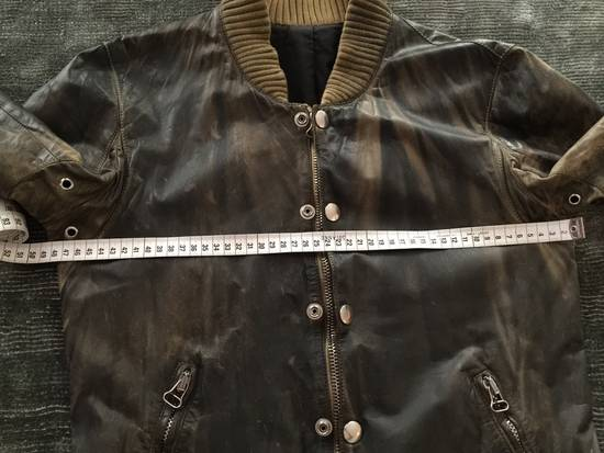 Balmain Decarnin Green Leather Teddy Boy Jacket Size US M / EU 48-50 / 2 - 17