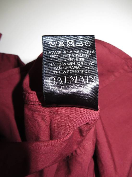 Balmain Embroidered plastron shirt Size US L / EU 52-54 / 3 - 9