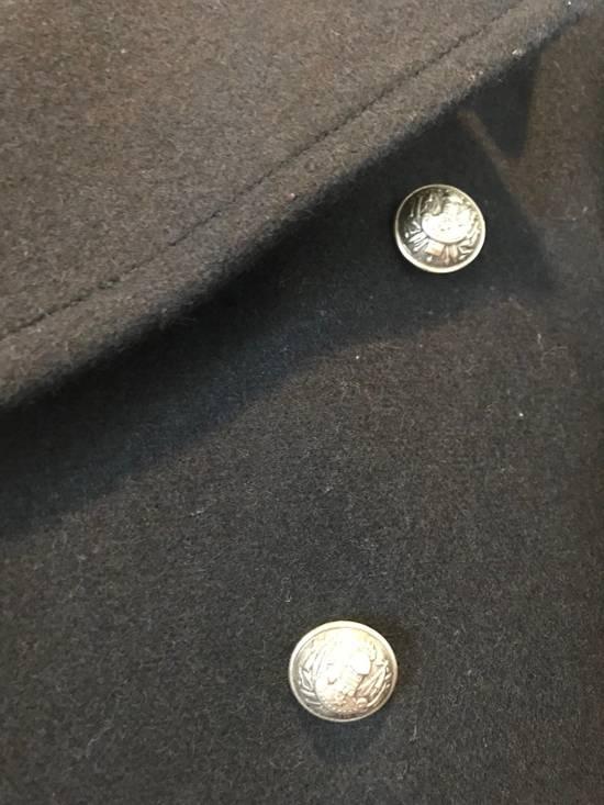 Balmain Navy Short Cut Pea Coat Size US S / EU 44-46 / 1 - 4