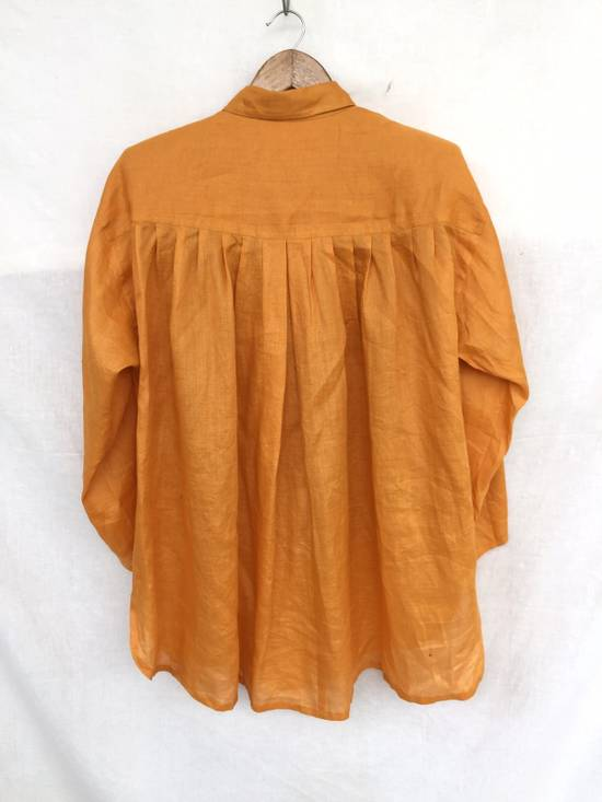 Givenchy Givenchy Dress Shirt Oversized Yellow 27x29:5 Size US XL / EU 56 / 4 - 2