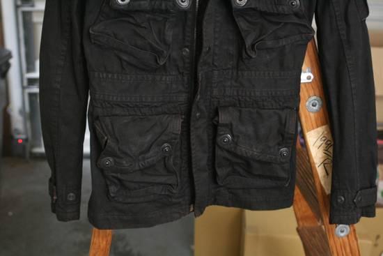 Julius Coated Black Gasmask Cargo Jacket Size US S / EU 44-46 / 1 - 3