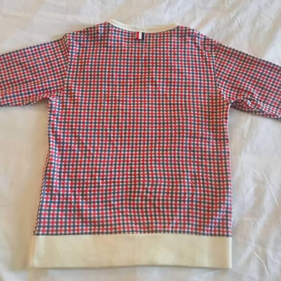 Thom Browne Thom Browne Crewneck Pullover Plaid Size US XXS / EU 40 - 2
