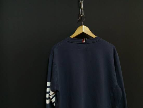 Thom Browne USA classic stripes navy sweatshirt Size US M / EU 48-50 / 2 - 4