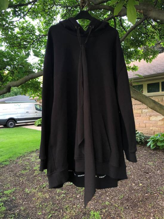 Givenchy Oversized silk-trimmed cotton hooded sweatshirt Size US M / EU 48-50 / 2