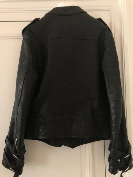 Balmain Leather Biker Jacket Size US L / EU 52-54 / 3 - 4