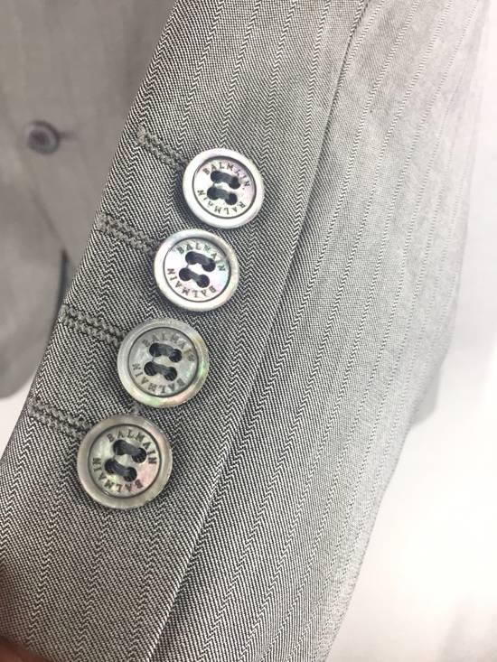 Balmain Grey Balmain Paris Coat Size 40L - 5