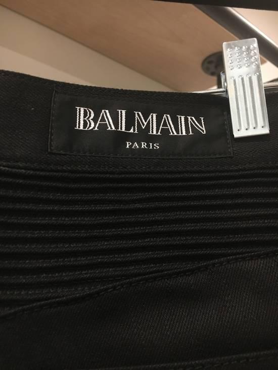 Balmain Black Biker Jeans NWT Size US 32 / EU 48 - 3