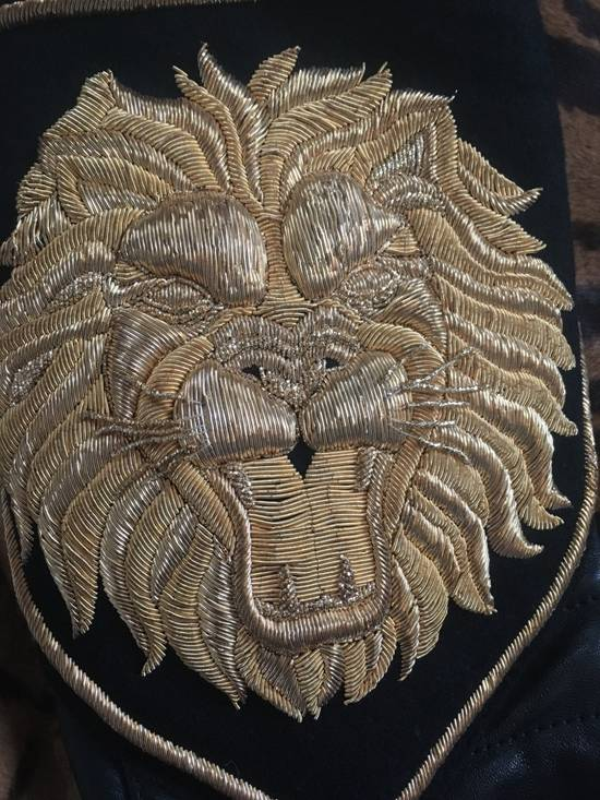 Balmain Rare Tiger Chest Biker Jacket Size US S / EU 44-46 / 1 - 6