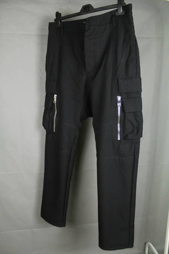 Balmain Balmain X H&M Cargo Biker Wool Pants Size EUR30 Size US 30 / EU 46 - 18