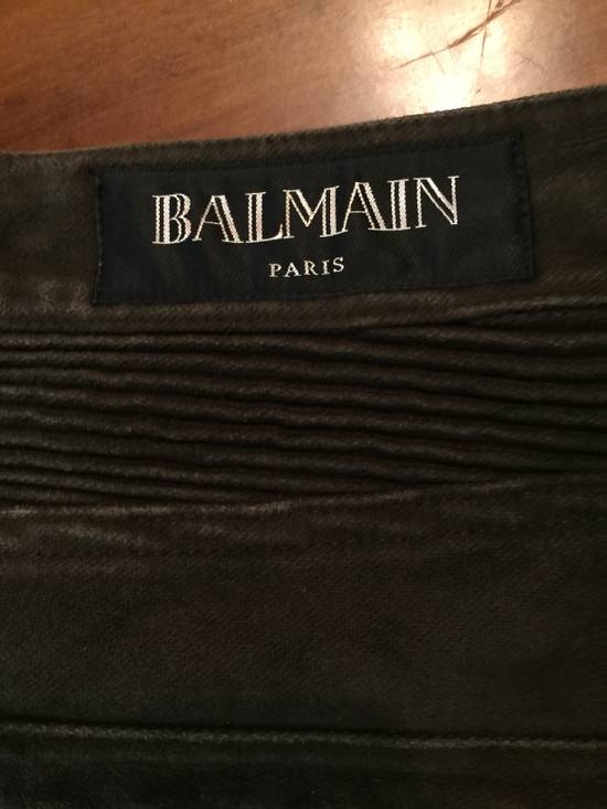 Balmain Mole Skin Biker Jeans *FINAL DROP* Size US 30 / EU 46 - 9