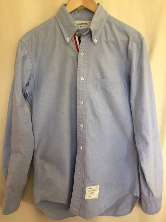 Thom Browne Thom Browne Blue Oxford shirt Sz.2 Size US M / EU 48-50 / 2