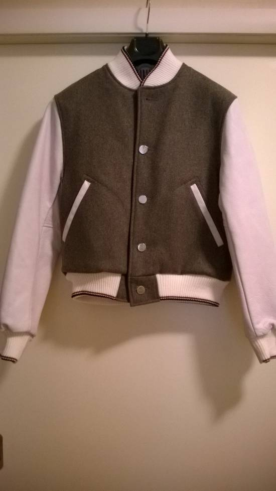 Thom Browne Size 0 New Wool Leather Varsity Bomber Size US XS / EU 42 / 0 - 3