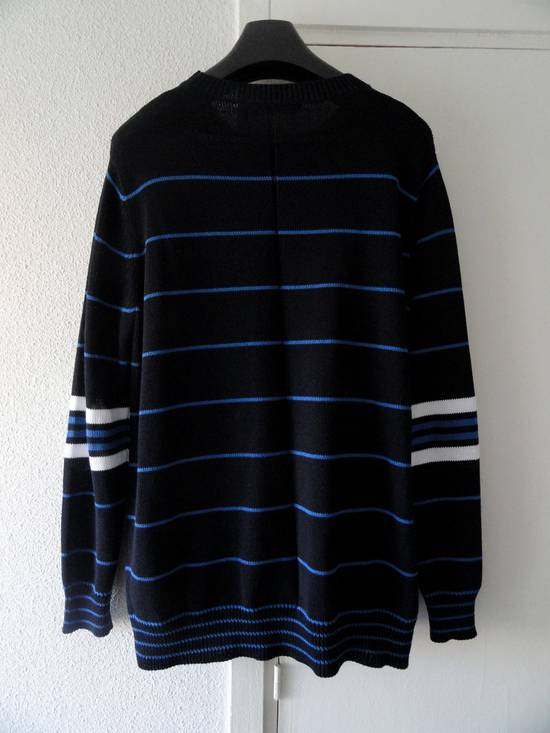 Givenchy GIVENCHY OVERSIZED STRIPED KNITTED COTTON SWEATER by Riccardo Tisci Size US L / EU 52-54 / 3 - 3