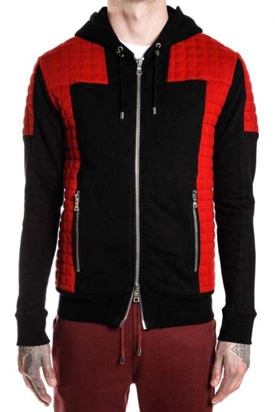 Balmain Quilted hoodie Size US XL / EU 56 / 4 - 1