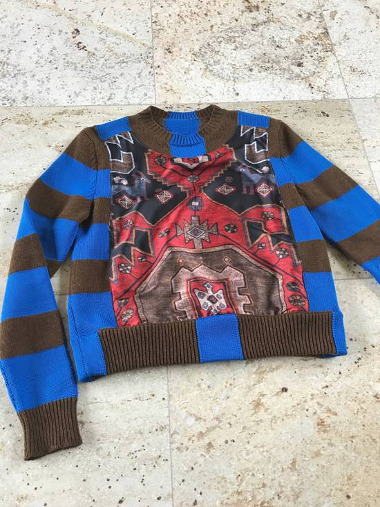 Givenchy Runway Printed Knit Sweater Size US XS / EU 42 / 0 - 8