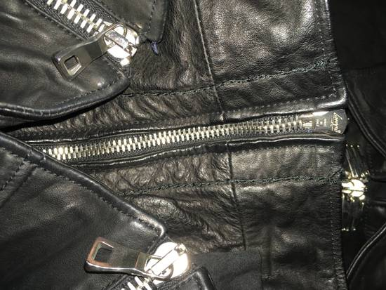 Balmain Safety Pin Biker Jacket Size US S / EU 44-46 / 1 - 8