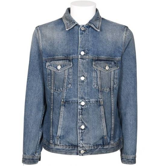 Givenchy 4G Embroidered Denim Jacket Size US M / EU 48-50 / 2