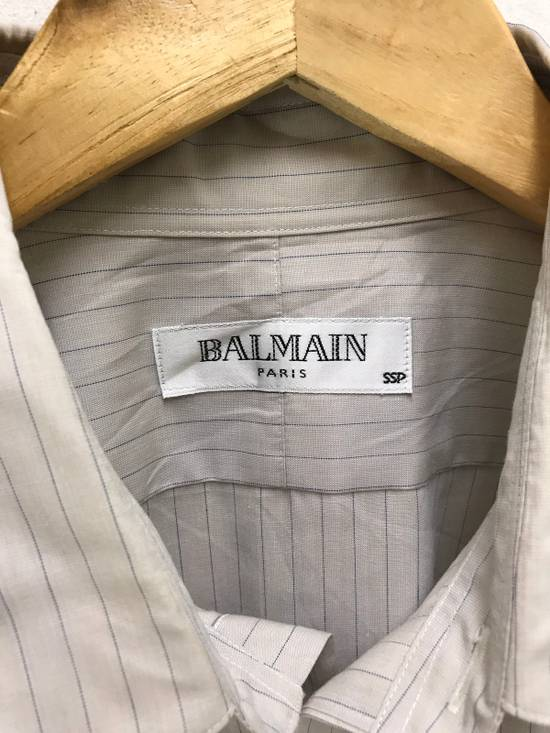 Balmain Balmain Paris Made in Japan Striped Shirt Button Up Size US M / EU 48-50 / 2 - 3