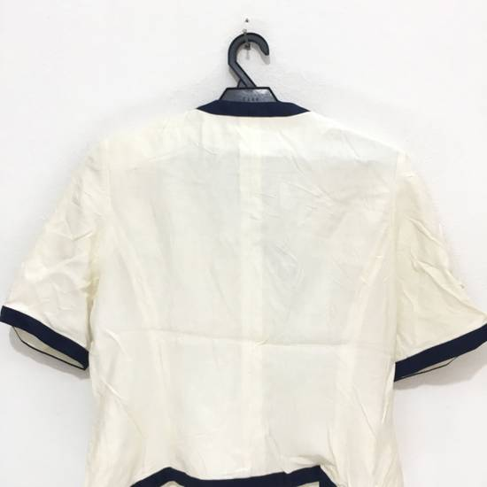 Balmain PIERRE BALMAIN PARIS Double Breasted Made In ITALY White Blouse Jacket Blazer Size 36S - 6