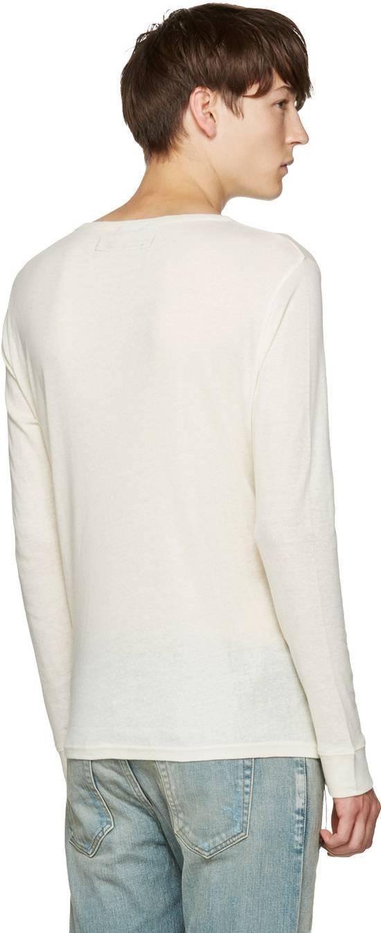 Balmain Size Small - Cashmere Blend Lace Front Shirt - FW16 - $625 Retail Size US S / EU 44-46 / 1 - 7