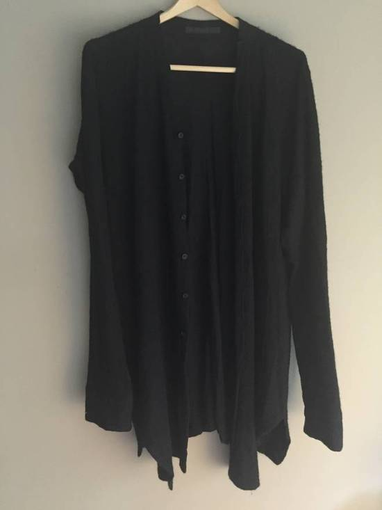 Julius Angora Wool Long Cardigan concealed placket Size US L / EU 52-54 / 3 - 3