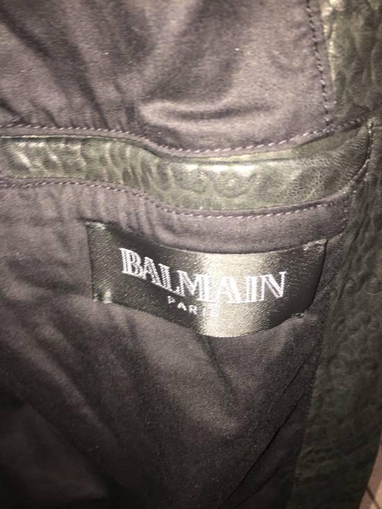 Balmain Classis Leather Jacket Size US M / EU 48-50 / 2 - 2