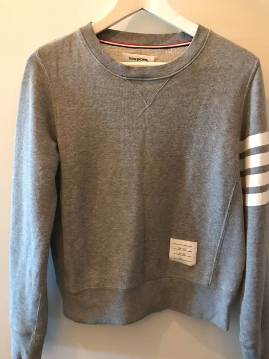 Thom Browne Grey Classic Lounge Sweater Size US XS / EU 42 / 0