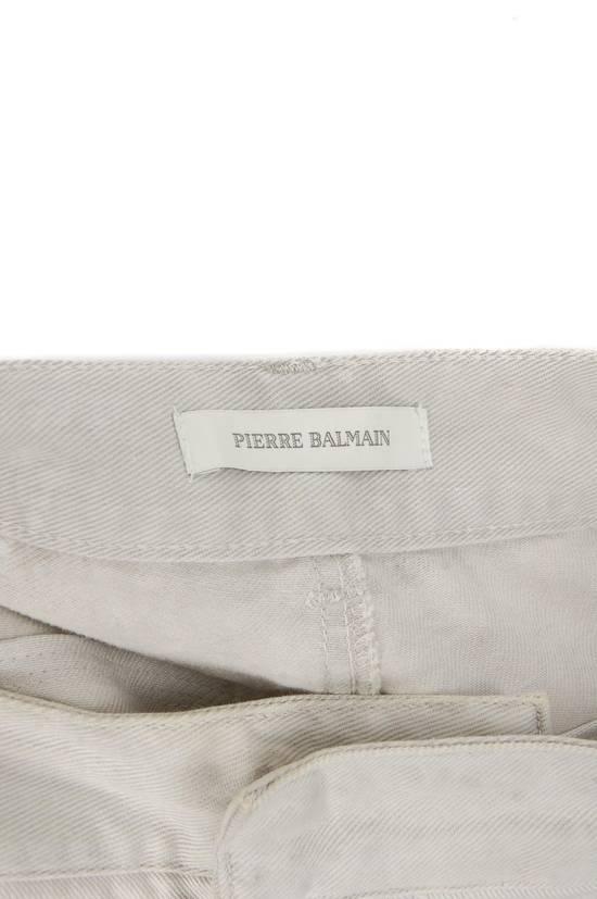 Balmain Balmain White Denim Jeans Size US 34 / EU 50 - 3