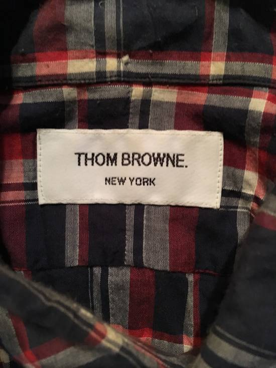 Thom Browne Plaid Madras Shirt Small Medium Size 1 Size US S / EU 44-46 / 1 - 3