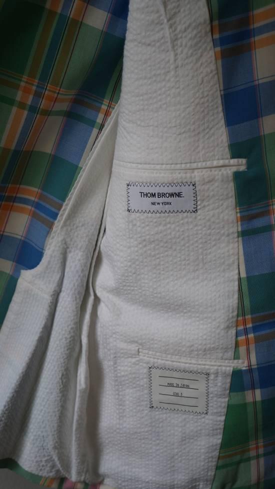 Thom Browne 13ss madras runway blazer Size 50S - 3